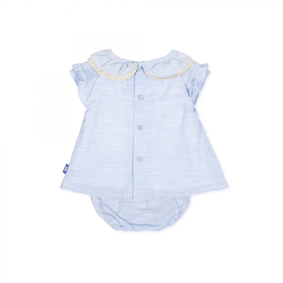 tutto piccolo tutto piccolo vestitino neonata azzurro 8210s20