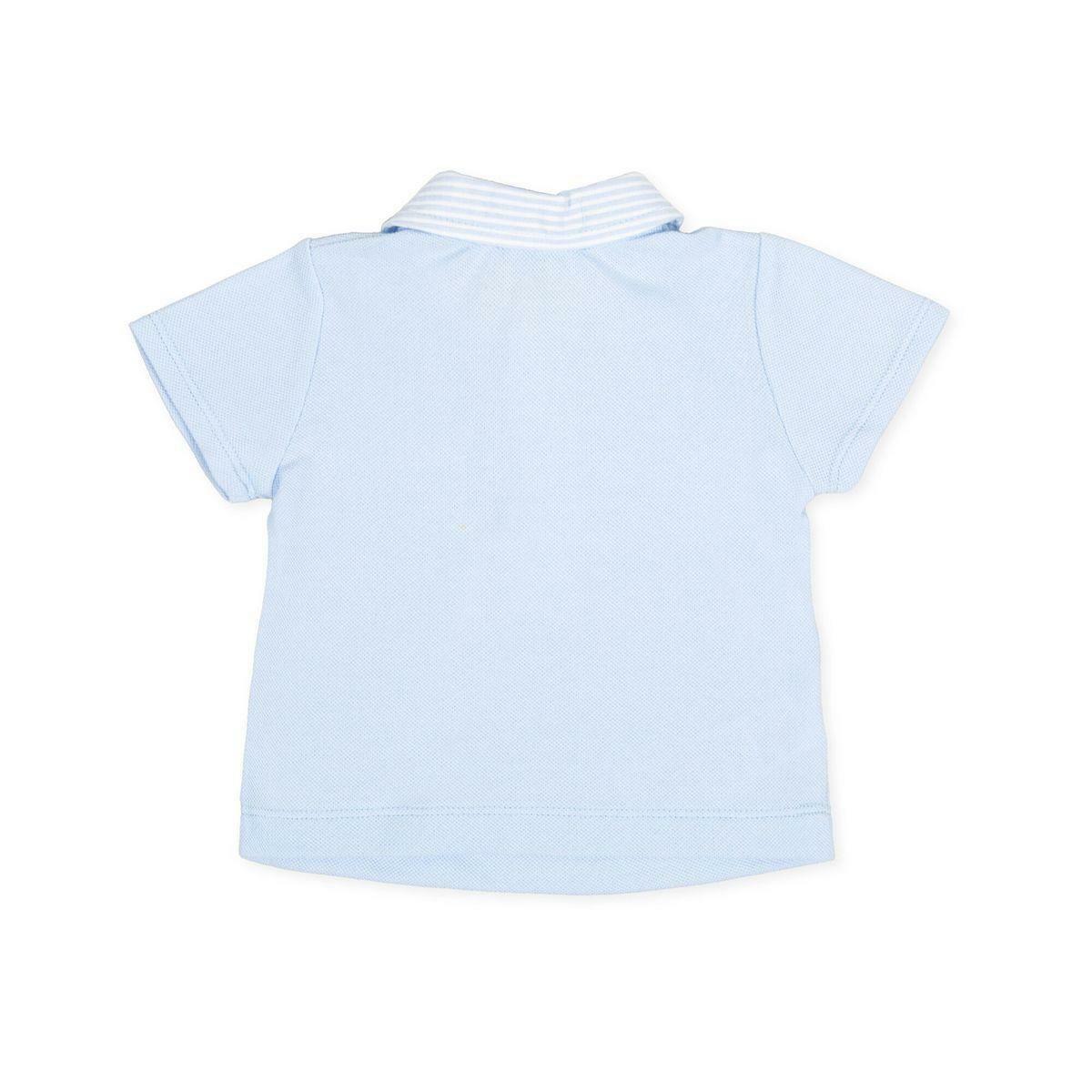 tutto piccolo tutto piccolo polo neonato azzurro 8812s20