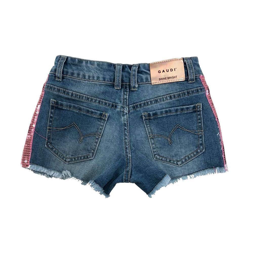 gaudi shorts gaudi  ragazza denim  gajf0012