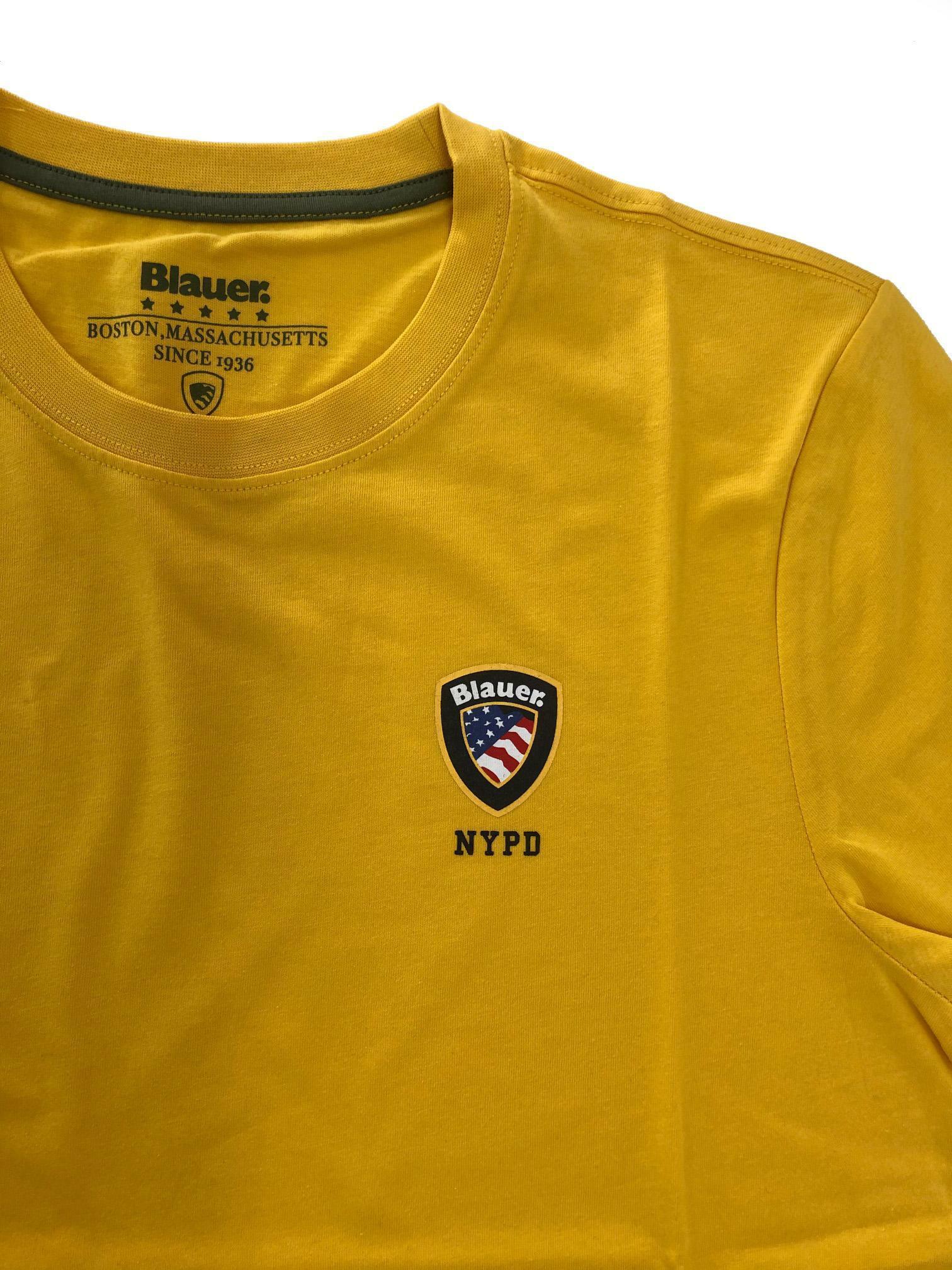 blauer t-shirt blauer uomo giallo 20sbluh02176