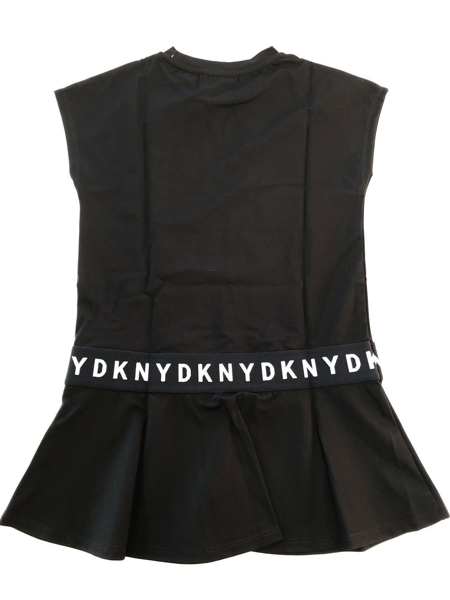 dkny dkny vestito  ragazza nero d32742