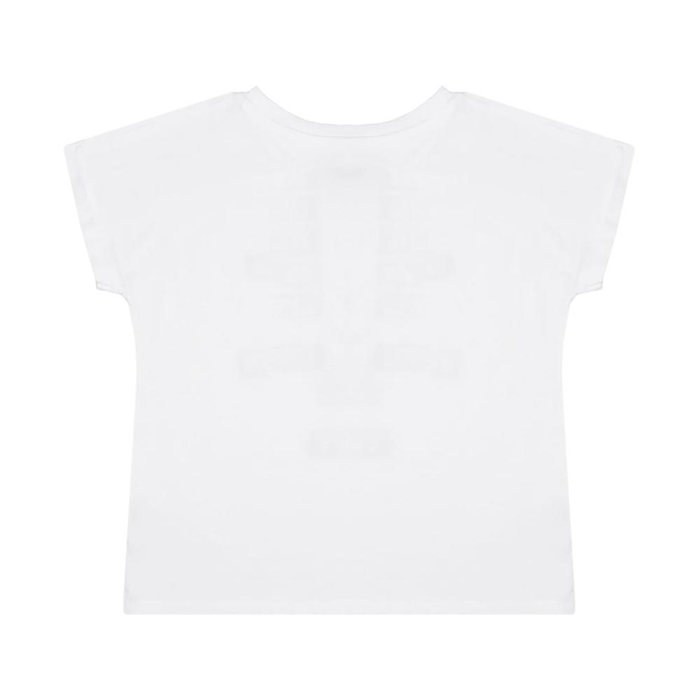 dkny dkny t-shirt  ragazza bianco d35q54