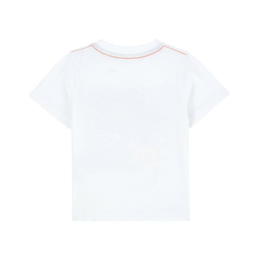 timberland timberland t-shirt neonato bianco t05j29