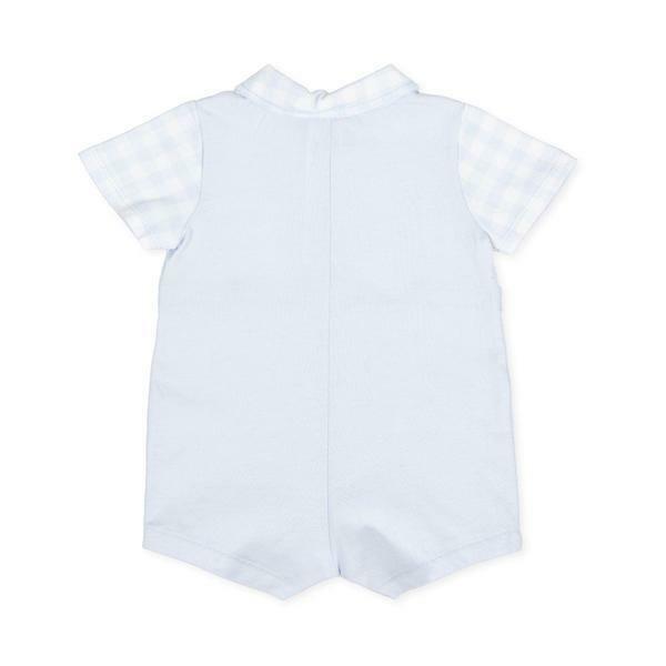 tutto piccolo tutto piccolo tutina neonato azzurro bianco 8282s20