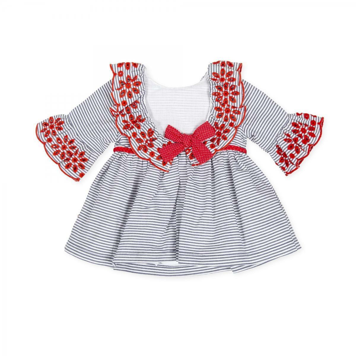 tutto piccolo tutto piccolo vestitino neonato blu 8243s20