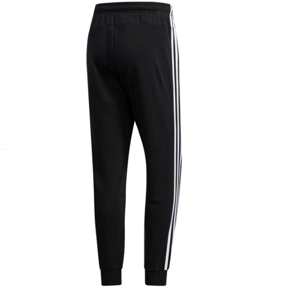 adidas adidas pantaloni uomo nero bianco du0468