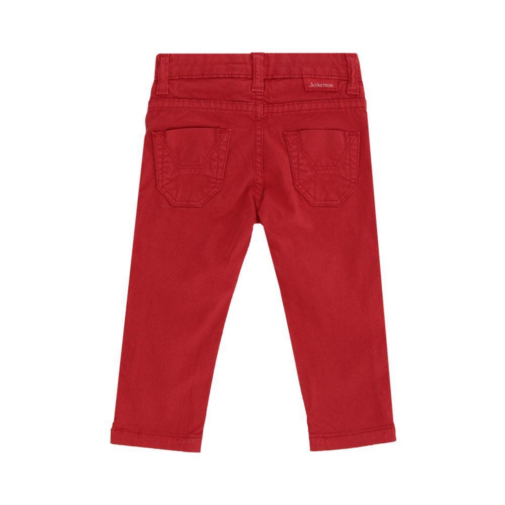jeckerson jeckerson pantalone neonato rosso jn1845