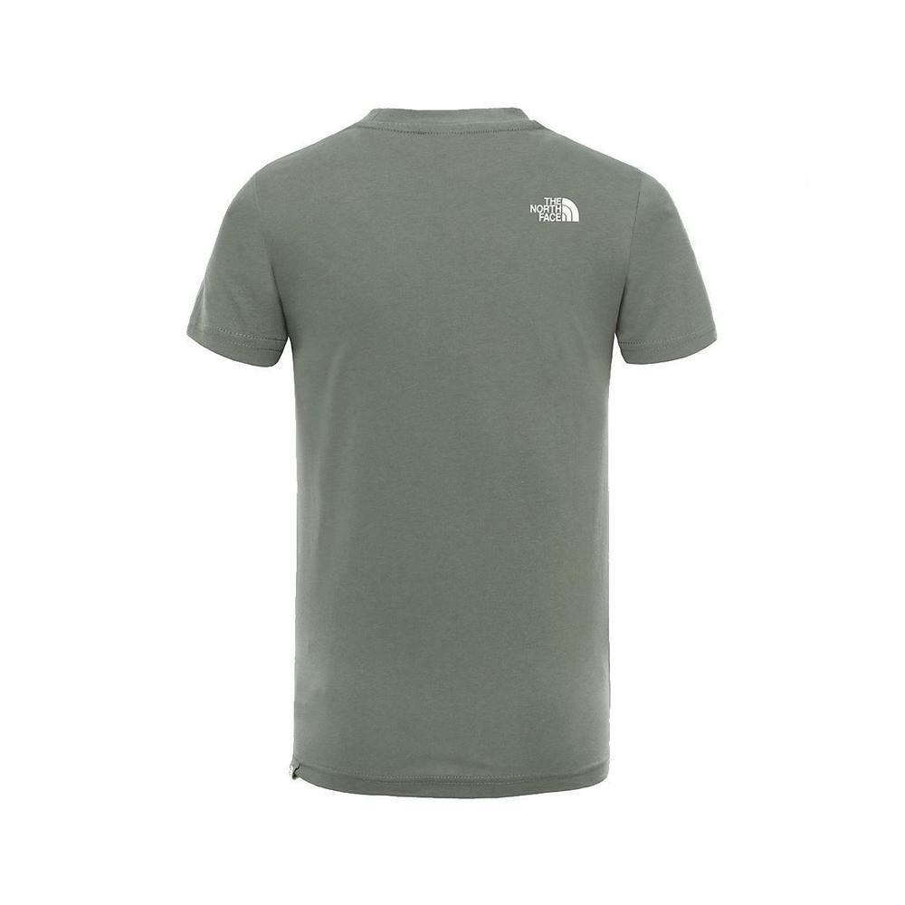 the north face the north face t-shirt bambino verde nf0a3bs2