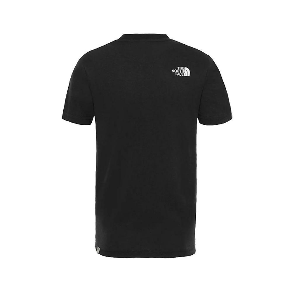 the north face the north face t-shirt bambino nero fantasia nf0a3bs2