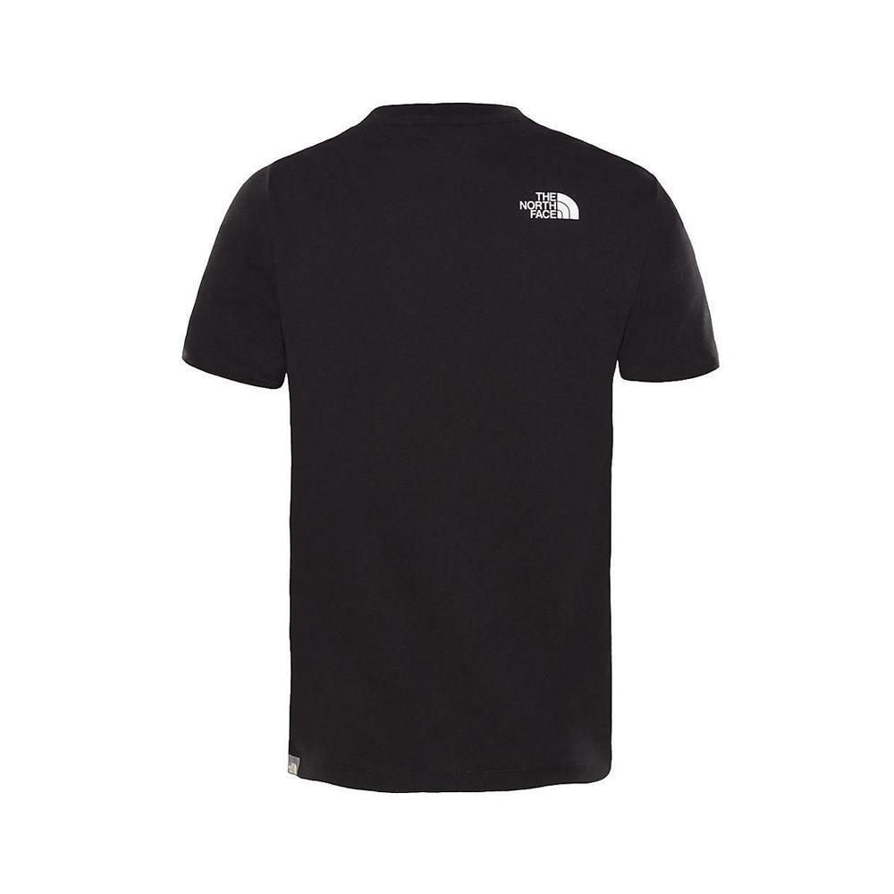 the north face the north face t-shirt bambino nero bianco nf00a3p7