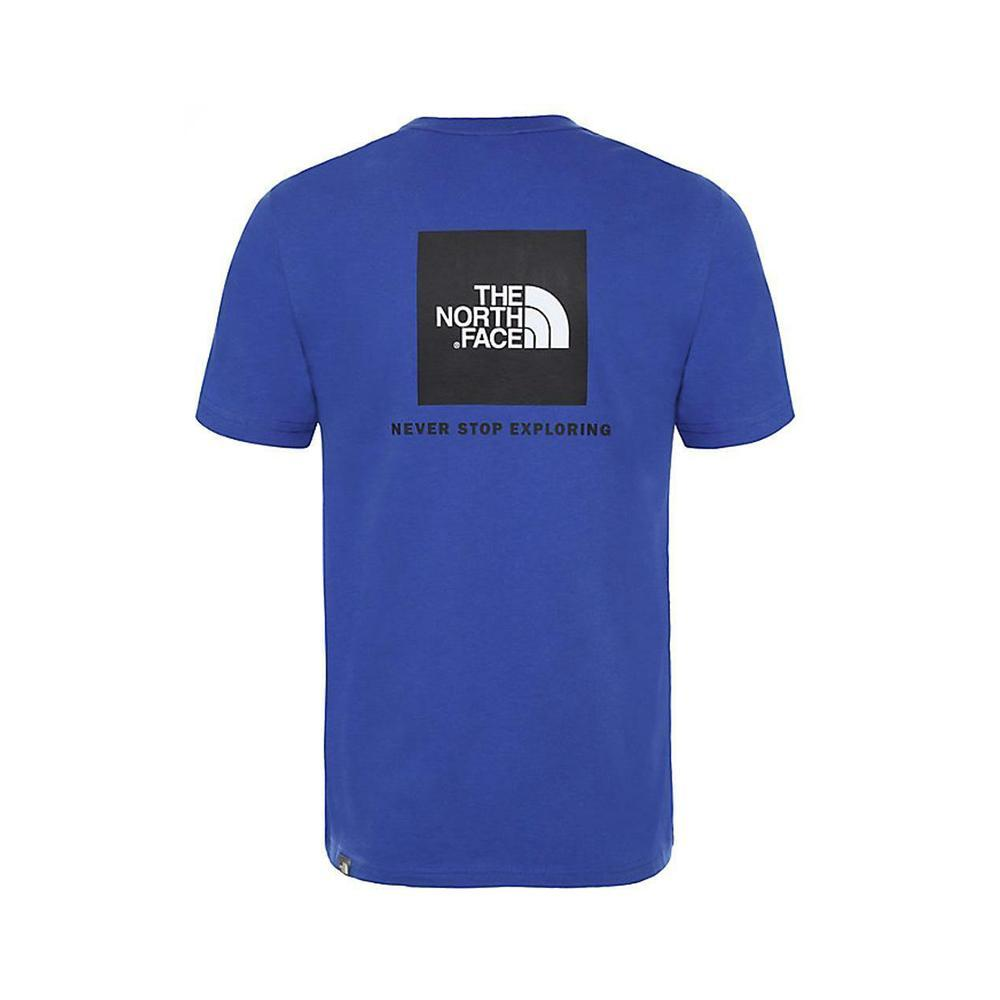 the north face the north face t-shirt uomo azzurro nf0a2tx2