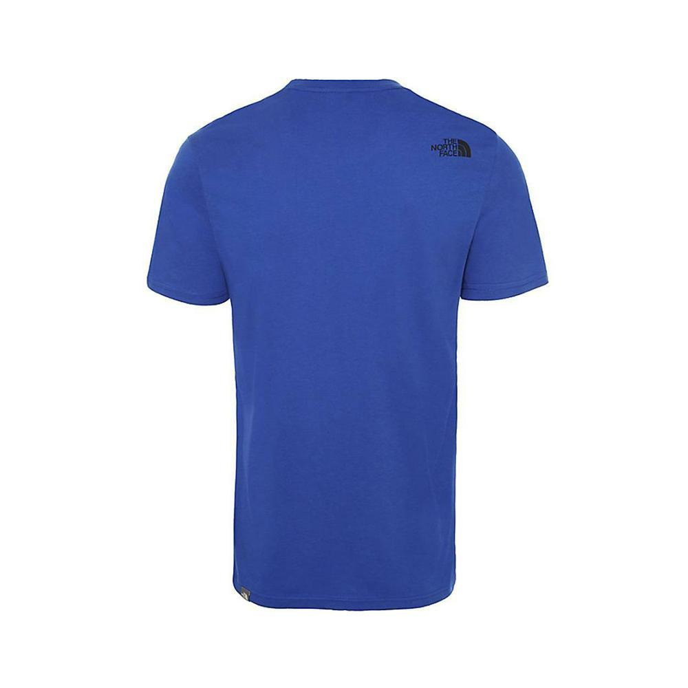 the north face the north face t-shirt uomo azzurro nf0a2tx3
