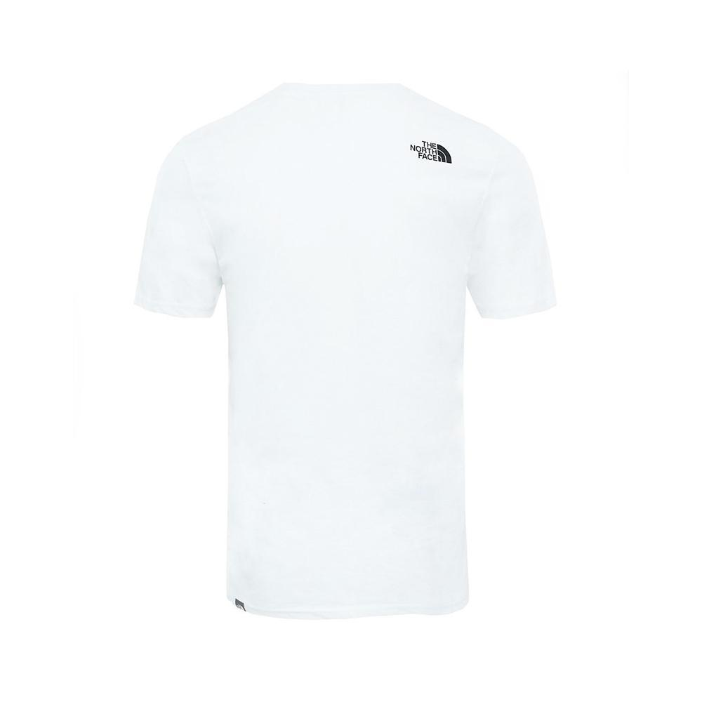 the north face the north face t-shirt uomo bianco nf0a2tx3