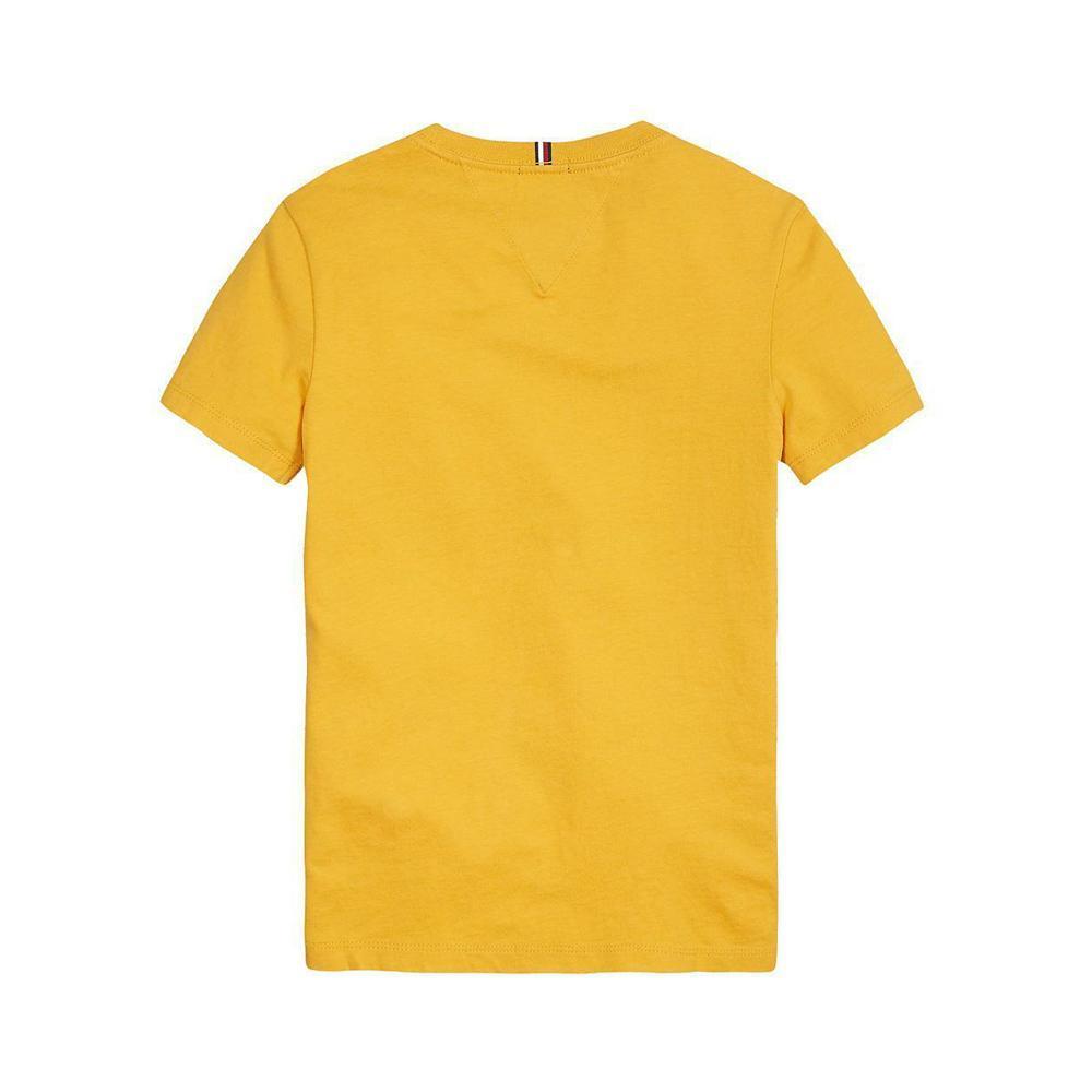 tommy hilfiger tommy hilfiger t-shirt bambino ocra kb0kb055471