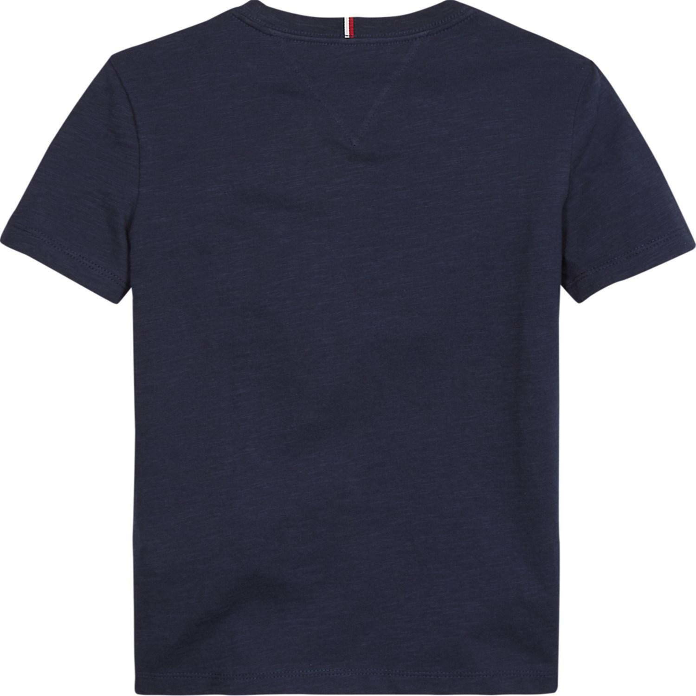 tommy hilfiger tommy hilfiger t-shirt bambino blu kb0kb05497