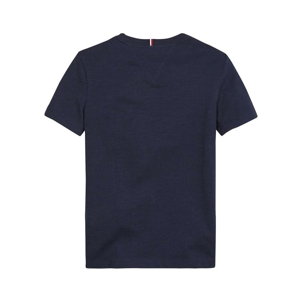 tommy hilfiger tommy hilfiger t-shirt bambino blu kb0kb054971