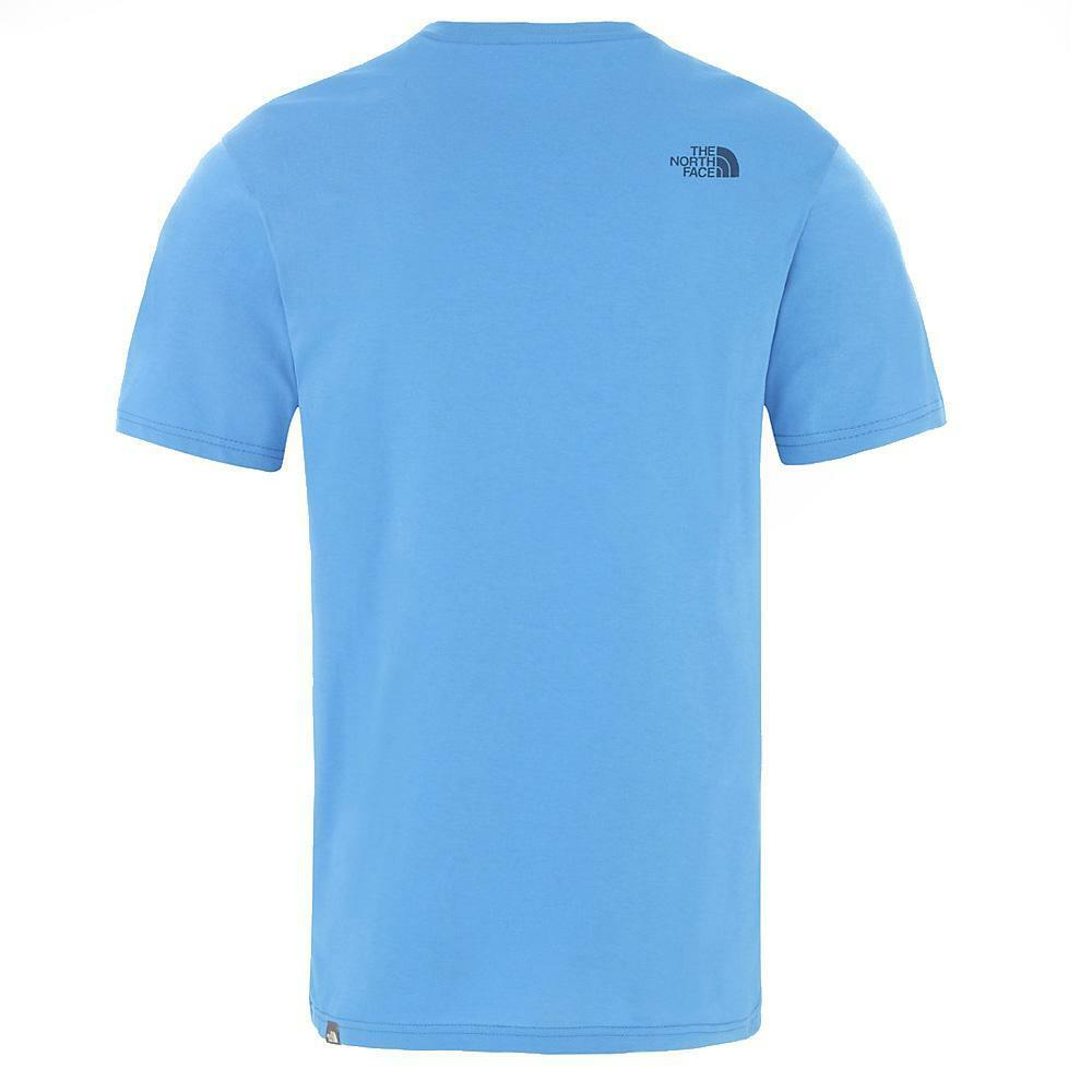 the north face the north face t-shirt uomo azzurro nf0a2tx5