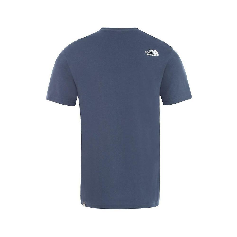 the north face the north face t-shirt uomo bluette nf0a2tx5