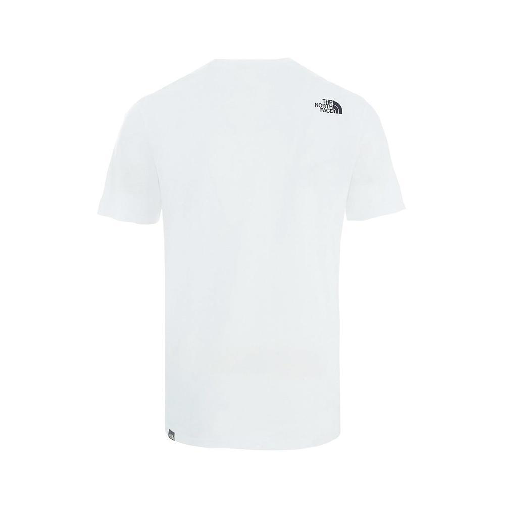 the north face the north face t-shirt uomo bianco nf0a2tx4