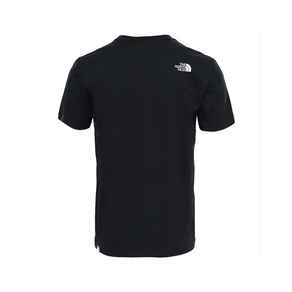 the north face the north face t-shirt uomo nero nf0a2tx4
