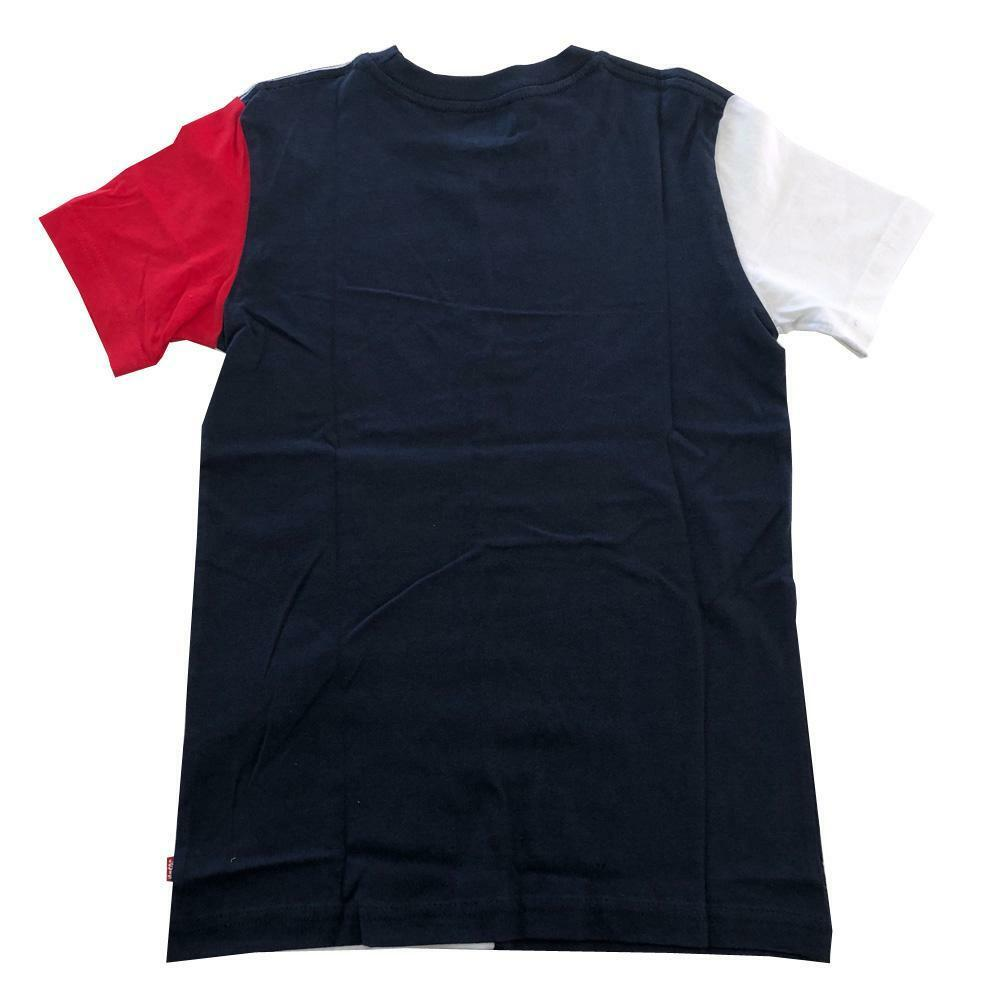 levis levis t-shirt junior blu bianco  9ea995