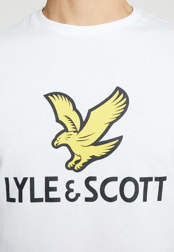 lyle&scott lyle&scott t-shirt junior bianco lsc08151