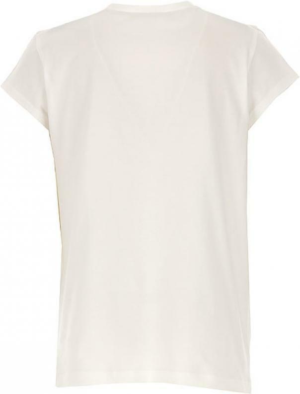 liu jo liu jo t-shirt ragazza  bianco verde ga0062j5003