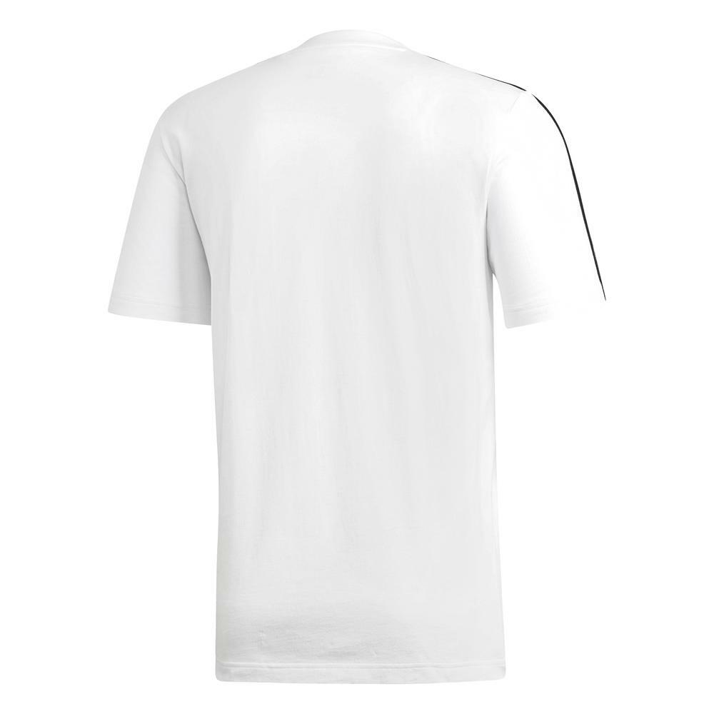 adidas adidas t-shirt uomo bianco du0441
