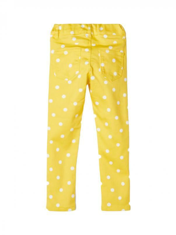 name.it name.it pantalone bambina giallo 13175031