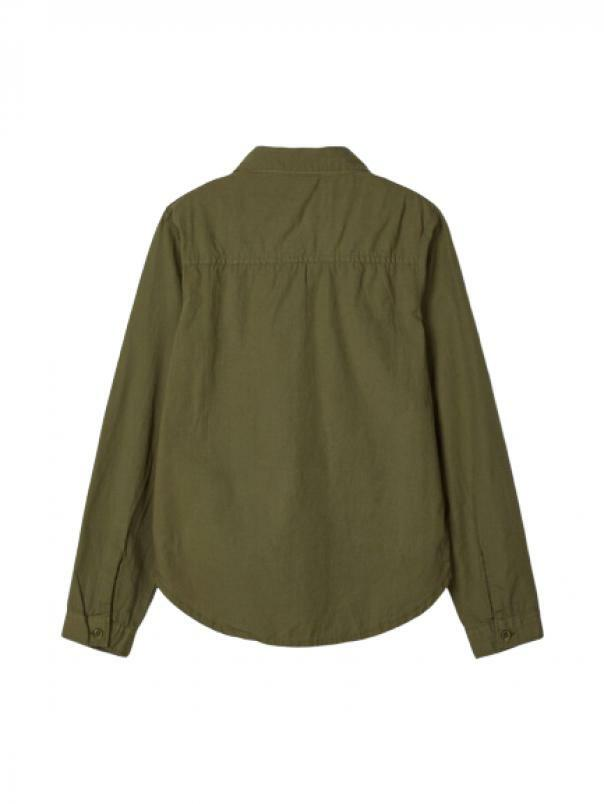 name.it name.it camicia bambina verde 13175604