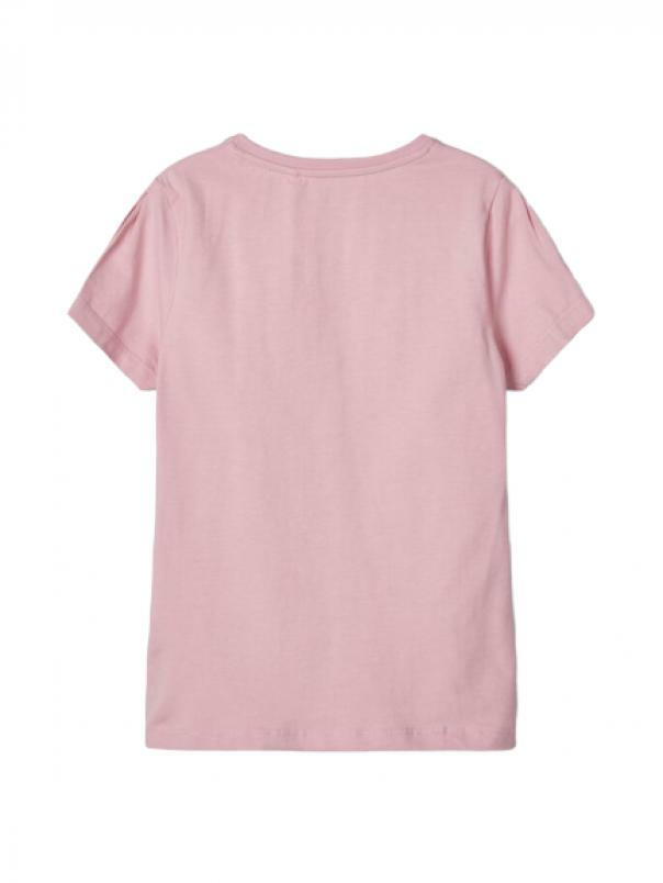 name.it name.it t-shirt bambina rosa 13175849