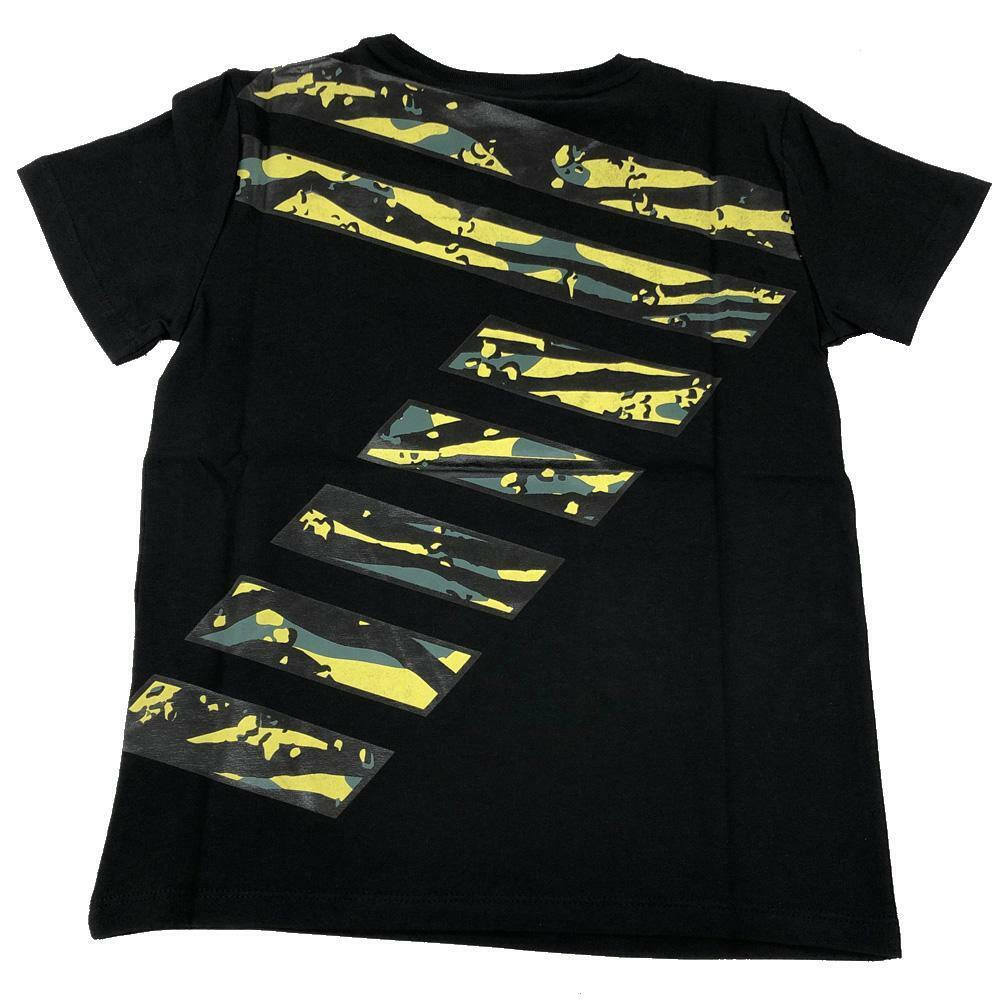 ea7 ea7 t-shirt bambino nero 3hbt59-bjt3z