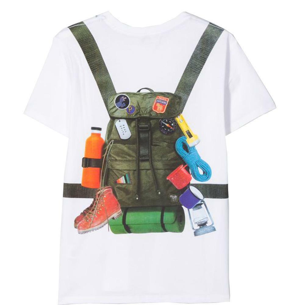 paul smith paul smith t-shirt bambino bianco 5q10632