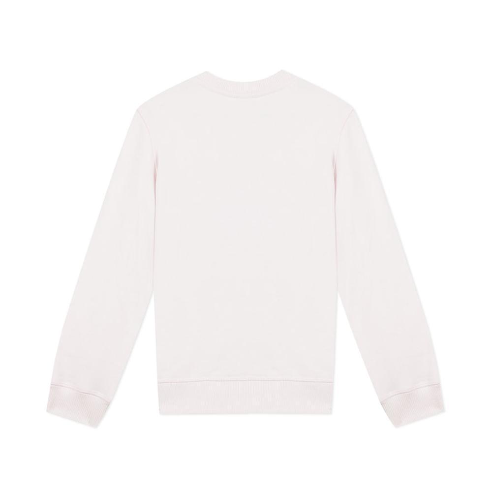 kenzo kenzo felpa girocollo ragazza rosa kq151481