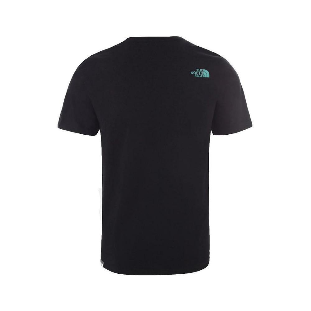 the north face the north face t-shirt uomo jk31 nero nf0a4m68