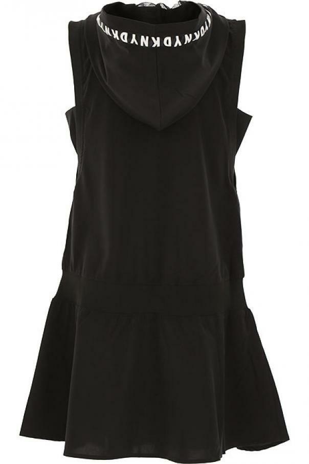 dkny dkny vestito ragazza  nero d327461