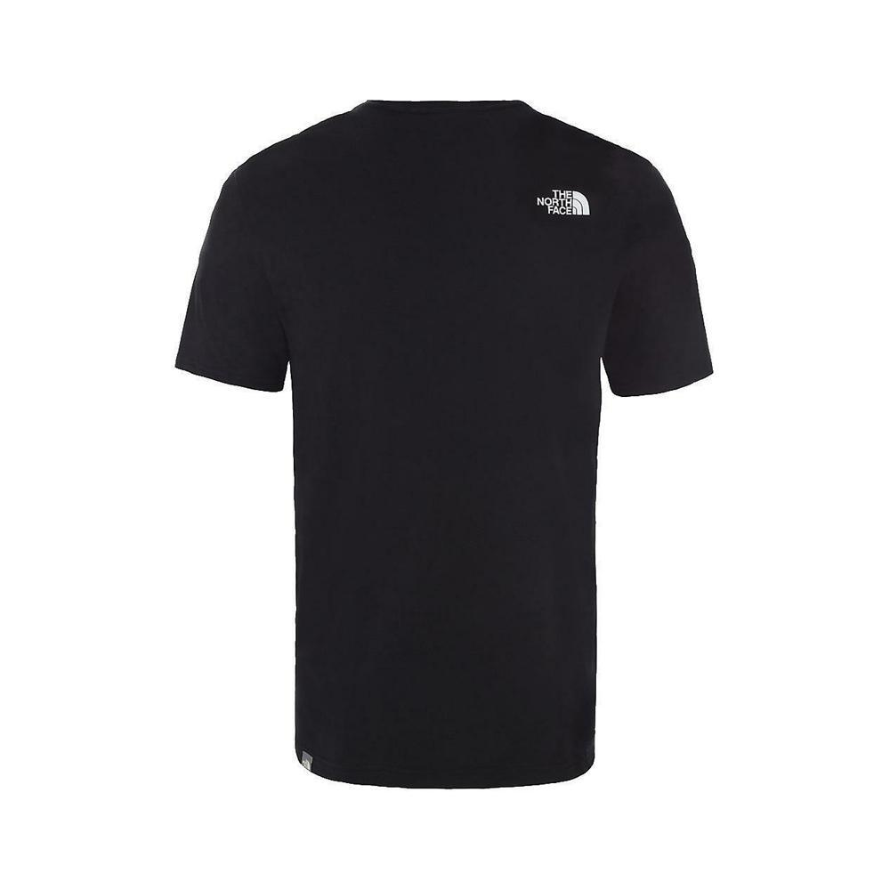 the north face the north face t-shirt uomo nero nf00a3g1