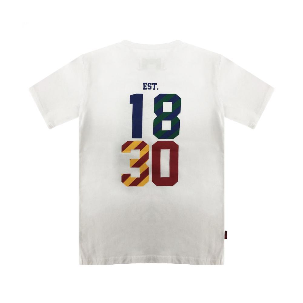 woolrich woolrich t-shirt bambino bianco wkte0049mr