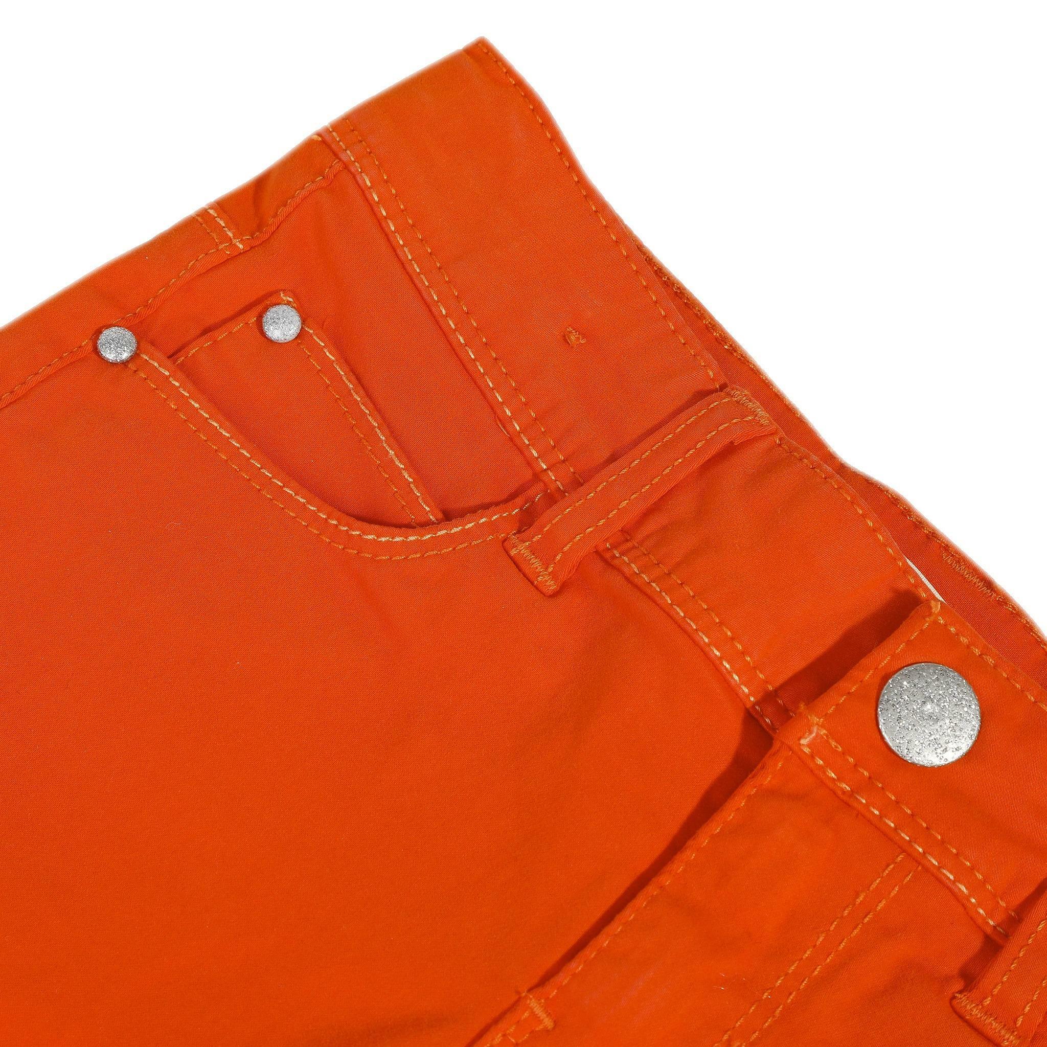 catimini catimini short bambina arancio cq260551