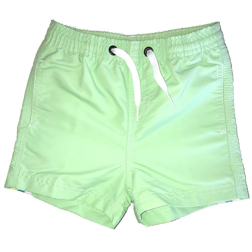 sundek sundek costume bambino verde chiaro giallo b504bdta100k