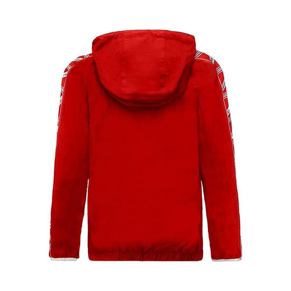 invicta invicta giubbotto bambino 1391 rosso grigio 4431559/j