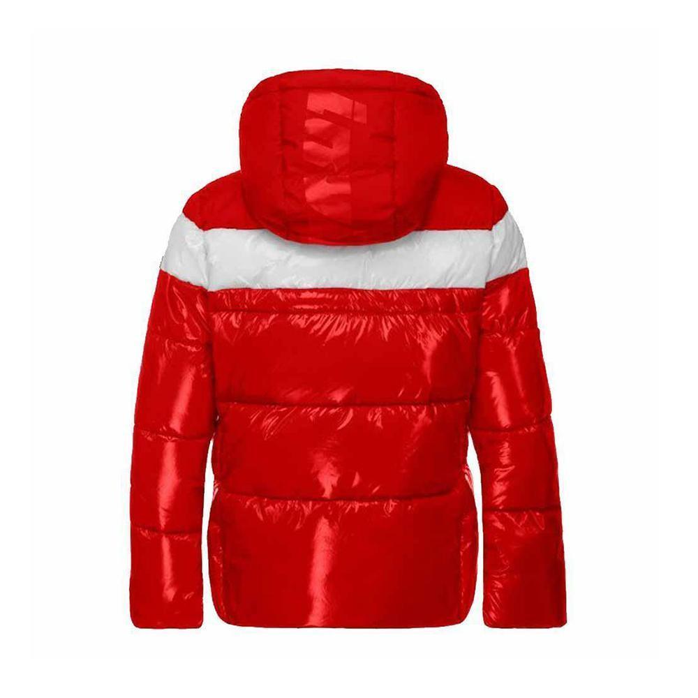 invicta invicta giubbotto bambina rosso bianco 4431614/ja