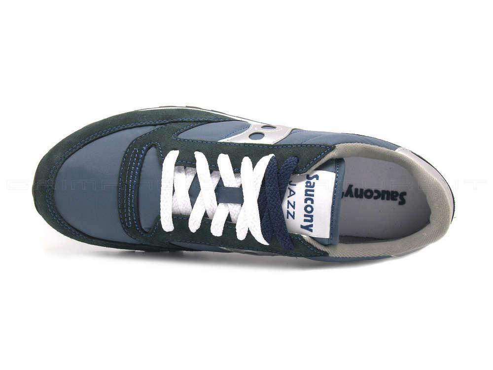 saucony saucony scarpe jazz originals uomo blu argento 2044-2