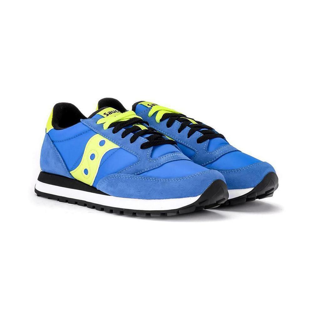 saucony saucony scarpa jazz original blu giallo fluo s2044-538