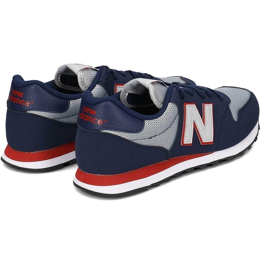 new balance new balance scarpa uomo blu grigio rosso gm500sgr