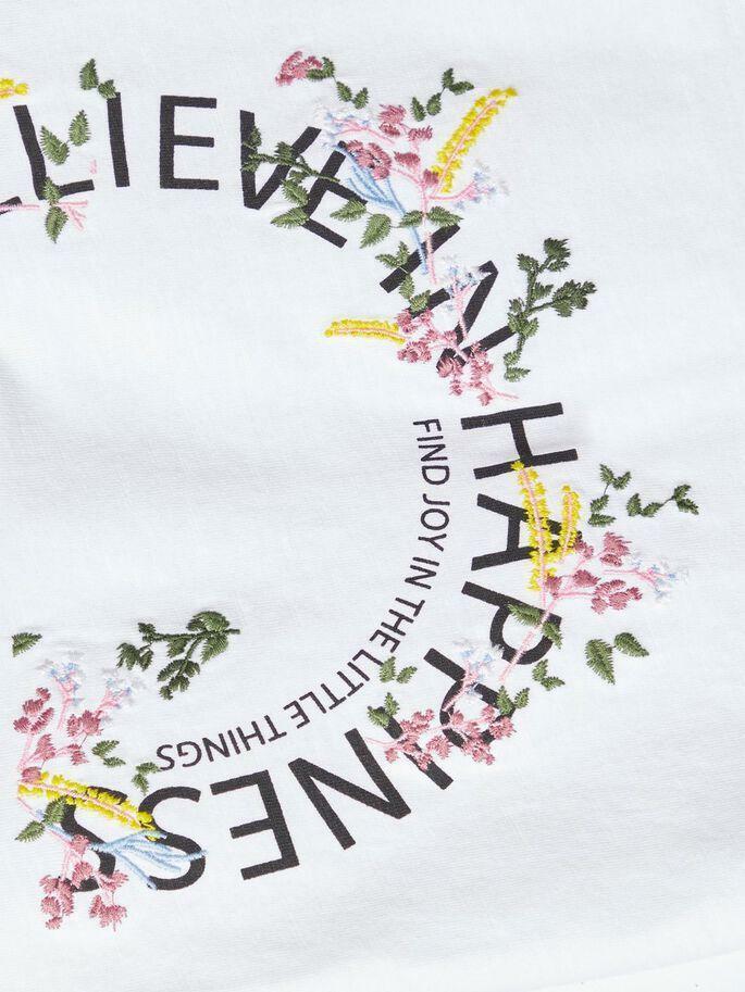 name.it name.it t-shirt bambina bianco 13175837