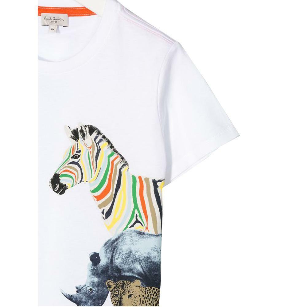 paul smith paul smith t-shirt bambino bianco 5q10622