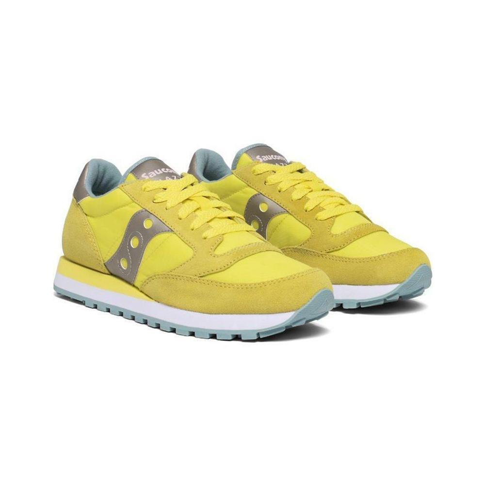 saucony saucony scarpa jazz original donna giallo grigio chiaro s1044-562