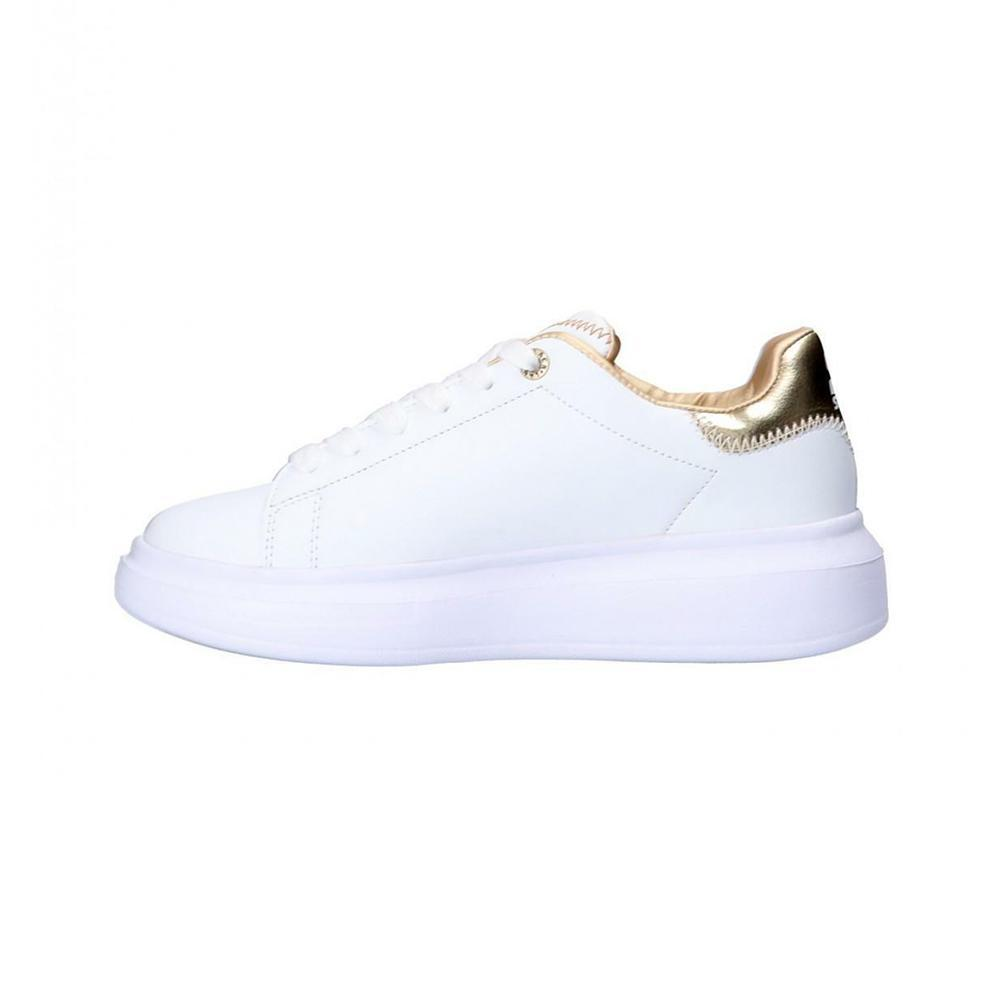starter starter scarpe donna bianco oro pla28bo