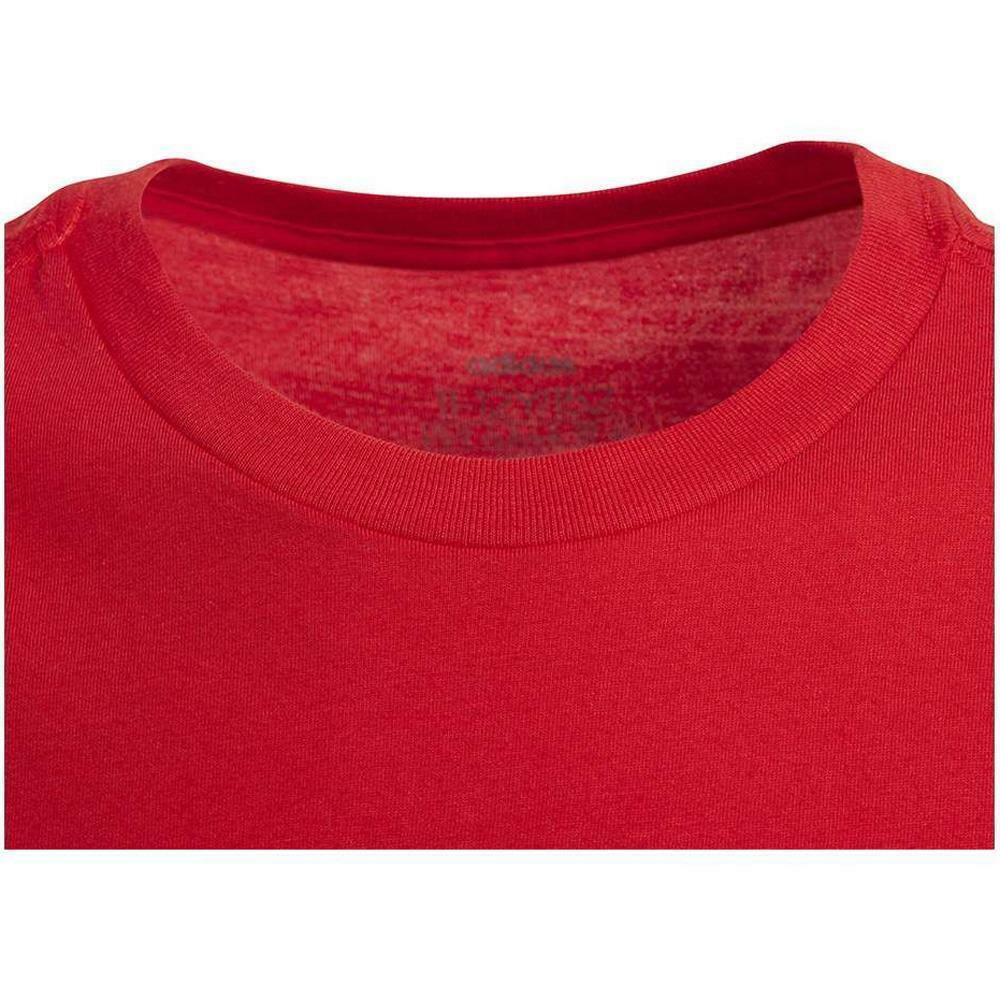 adidas adidas t-shirt bambino rosso bianco fs9587
